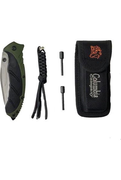 Columbia Kamp Bıçağı Seti New Designe 'haki'