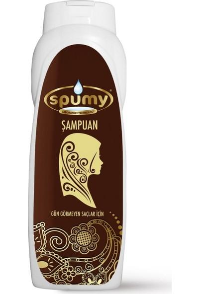 Spumy Kapalı Saçlar Için Organik Şampuan 600 ml