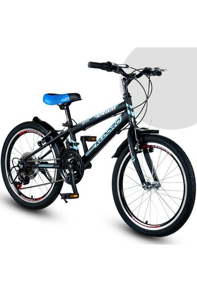 Kldoro 2024 20 Jant Bisiklet 21 Vitesli Erkek Çocuk Bisikleti Mavi