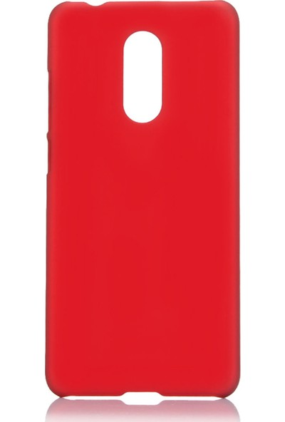 Microcase LG Q7 Plus / Q7 Premium Matte Silikon Kılıf Kırmızı
