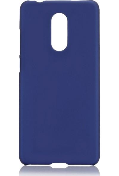 Microcase LG Q7 Prime / Q7 BTS Premium Matte Silikon Kılıf Lacivert