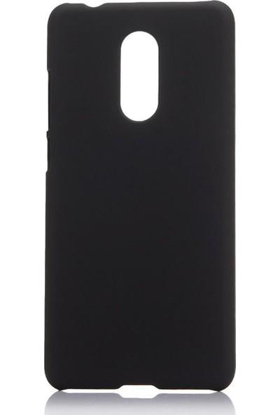 Microcase LG Q7 Prime / Q7 BTS Premium Matte Silikon Kılıf Siyah