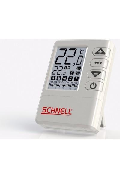 Schnell Kablosuz Programlanabilir Oda Termostatı