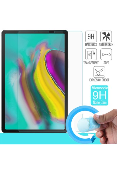 "Microsonic Samsung Galaxy Tab S5E 10.5"" T720 Nano Cam Ekran Koruyucu"