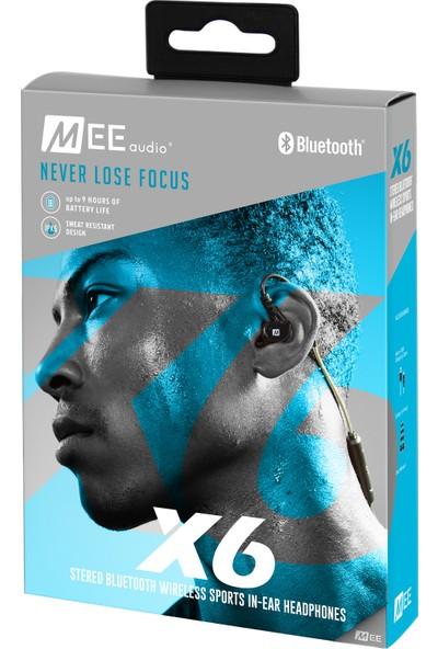 Meeaudio X6 Esnek Kancalı Kulakiçi Kulaklık - Siyah