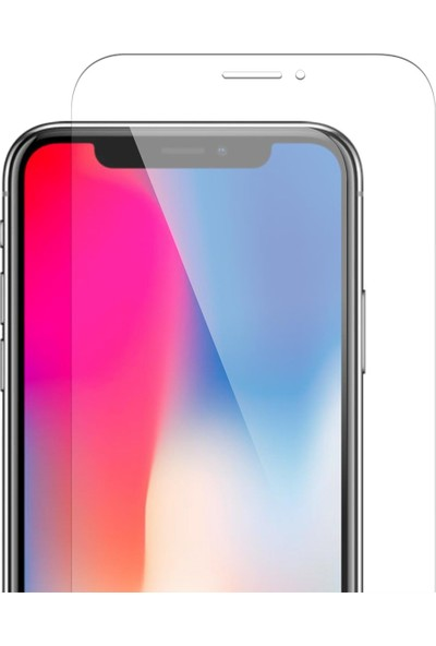 Soultech Apple iPhone X/Xs Platinum Cam Ekran Koruyucu - EK602