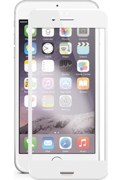 Soultech Apple iPhone 6 Plus (Colorful) Platinum Cam Ekran Koruyucu Beyaz - EK801B