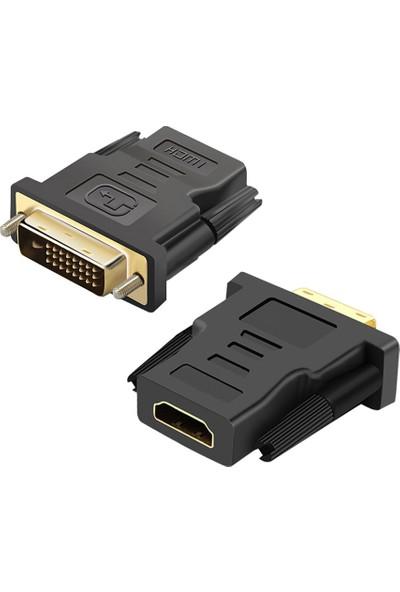 Codegen DVI 24+1 Pin Erkek - HDMI Dişi Çevirici Adaptör CDG-CNV37