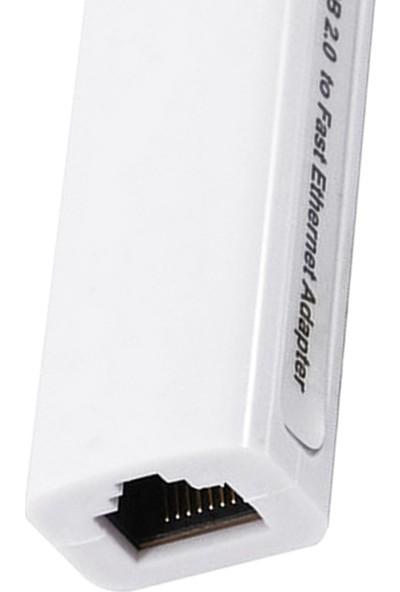 Codegen USB 2.0 - 10/100 Mbps RJ45 Ethernet Çevirici Adaptör CDG-CNV42