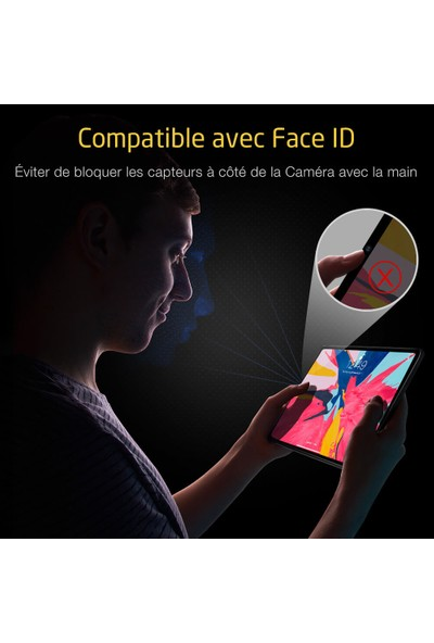 Esr iPad Pro 11 2018 Cam Kamera Koruyucu Camera Glass 2 Adet