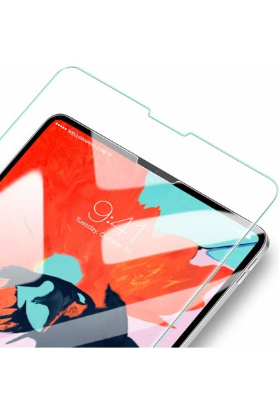 Esr iPad Pro 12.9 2018 Cam Ekran Koruyucu Glass Film