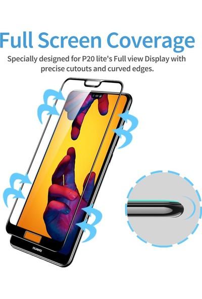 Esr Huawei P20 Lite Cam Ekran Koruyucu Fullcover Glass Film 2 Adet