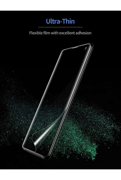Esr Samsung S10 Plus Cam Ekran Koruyucu 3D Full Coverage Liquid Skin Film 3 Adet