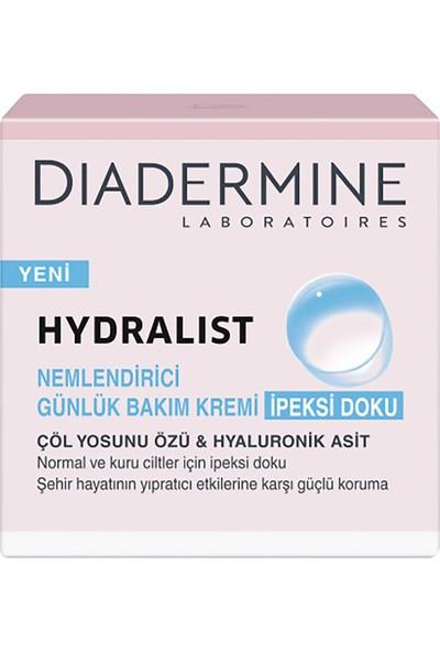 Diadermine Hydralist Nemlendirici Günlük Bakım Kremi İpeksi Doku 50 Ml