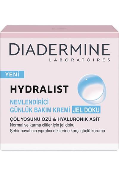 Diadermine Hydralist Nemlendirici Günlük Bakım Kremi Jel Doku 50 Ml