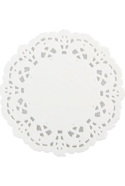 Niceplast Kağıt Dantelli Bardak Altlığı