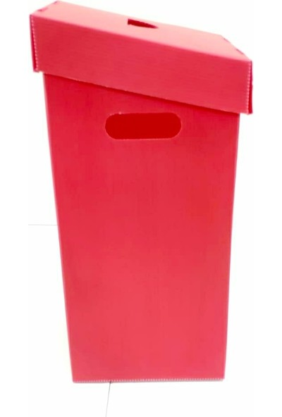 Nok Plastik Pil Atık Kutusu