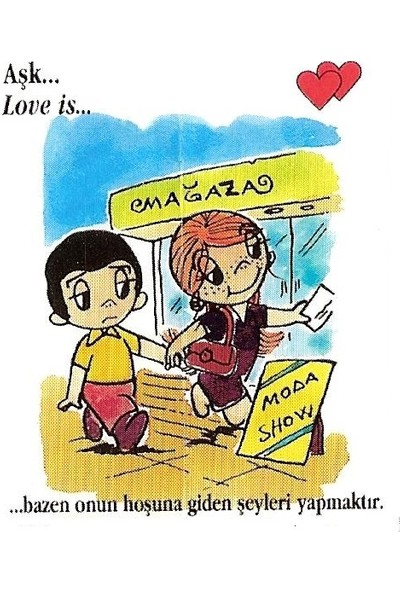 Ruba Love Is Şıpsevdi Sözleri Kutusu 100 Adet