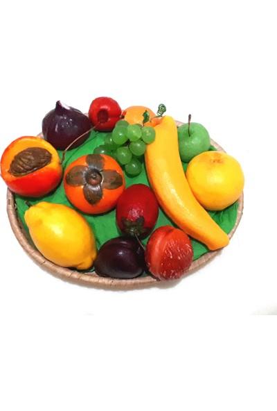 Sfc El Yapımı Dekoratif Meyve Sabun Sepeti