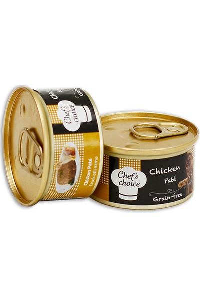 Chefs Choice Ezme Tahılsız Tavuklu Kedi Konservesi 85 g x 12 Adet