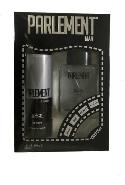Parlement Black Erkek Parfüm Set