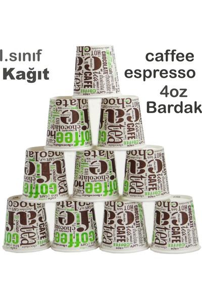 Bencup Karton Bardak 4 Oz Türk Kahvesi Espresso Bardağı 200' lü