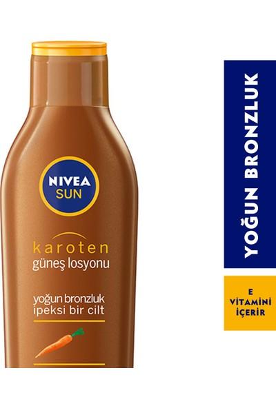 Nivea Sun Yoğun Bronzluk Veren Karoten Özlü Güneş Losyonu 200 Ml
