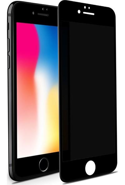 Case 4U Apple iPhone 6-6S Privacy Hayalet Cam Ekran Koruyucu Siyah