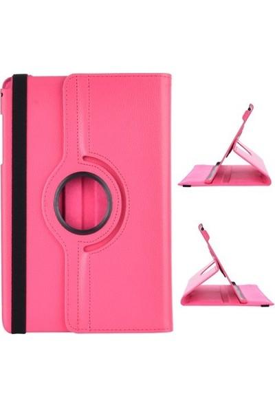 EssLeena Samsung Powers Kılıf Seti Tab 3 Lite Sm-T110/T111/T113/T116 7 İnç 360 Derece Dönebilen Kılıf+330 Derece Bükülebilen Nano Ekran Koruyucu+Kalem+Şarj Seti Beyaz