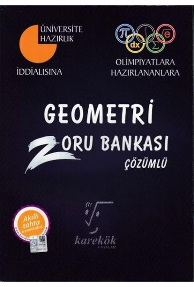 Karekök Yayınları Geometri Zoru Bankası