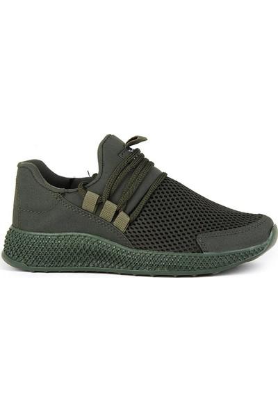 Scot Haki Günlük Yürüyüş Erkek Spor Ayakkabı