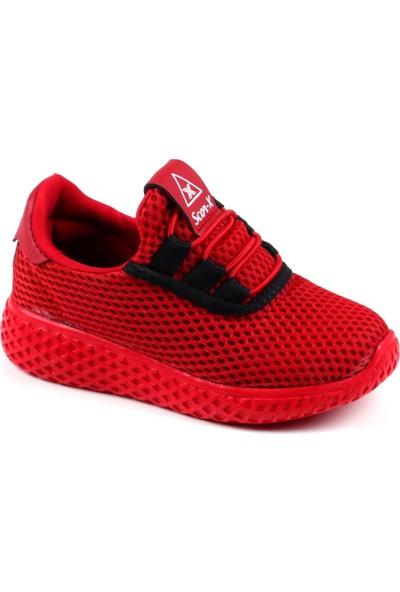 Scor-X Kırmızı Ultra Hafif Rahat Çocuk Spor Ayakkabı