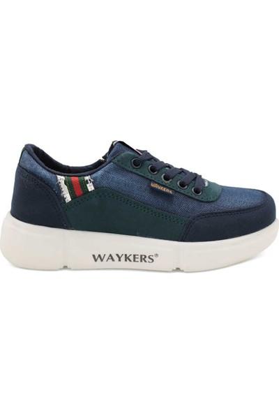 Waykers Petrol Kot Erkek Çocuk Günlük Ayakkabı