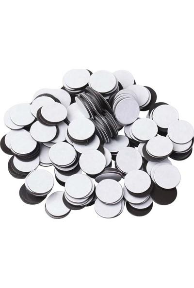 DirektAl Arkası Yapışkanlı Yuvarlak Magnet Taneleri 20 Adet