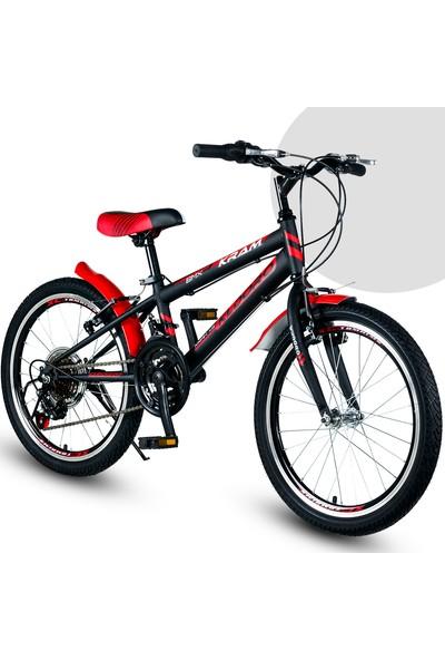 Kldoro 2024 20 Jant Bisiklet 21 Vitesli Erkek Çocuk Bisikleti Kırmızı