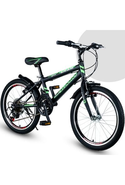 Kldoro 2024 20 Jant Bisiklet 21 Vitesli Erkek Çocuk Bisikleti Yeşil