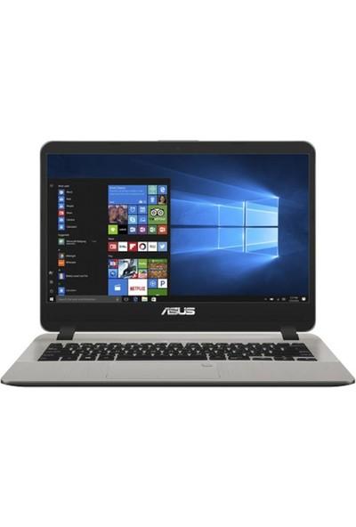 """Asus X407UB-BV187D Intel Core i5 8250U 8GB 1TB + 120GB SSD MX110 Freedos 14"""" Taşınabilir Bilgisayar"""