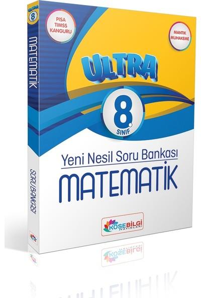 Köşe Bilgi Yayınları LGS 8. Sınıf Yeni Nesil Ultra Matematik Soru Bankası