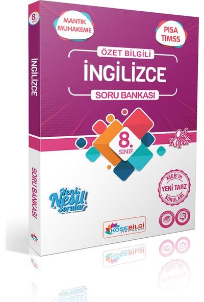 Köşe Bilgi Yayınları LGS 8. Sınıf Özet Bilgili Ingilizce Soru Bankası