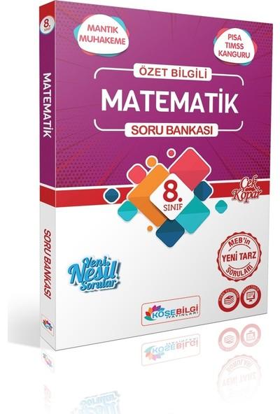 Köşe Bilgi Yayınları LGS Özet Bilgili 8. Sınıf Matematik Soru Bankası