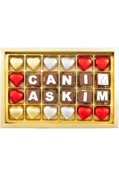 Sıroğlu Çikolata Canım Aşkım Hediyelik Kutu