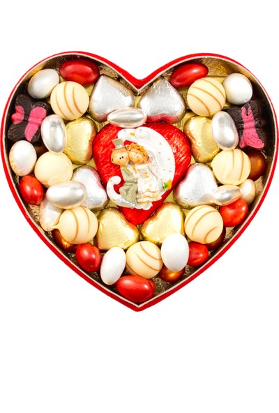 Sıroğlu Çikolata Ayışığı Kalp Kutu