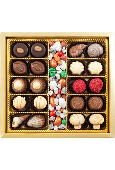Sıroğlu Çikolata Spesyal & Draje Kare Kutu