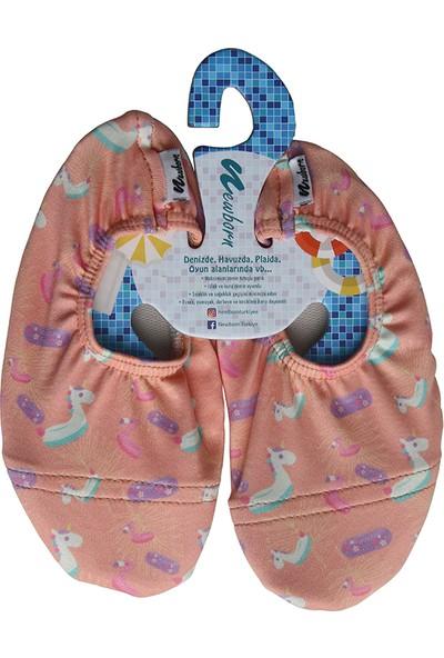Newborn Kız Çocuk Deniz Ayakkabısı