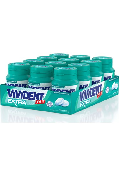 Vivident Comfort Bottle Extra 12'li x 66 gr