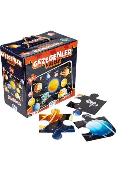 Ca Games 2'li Dünyamız ve Gezegenler Yer Puzzle Seti