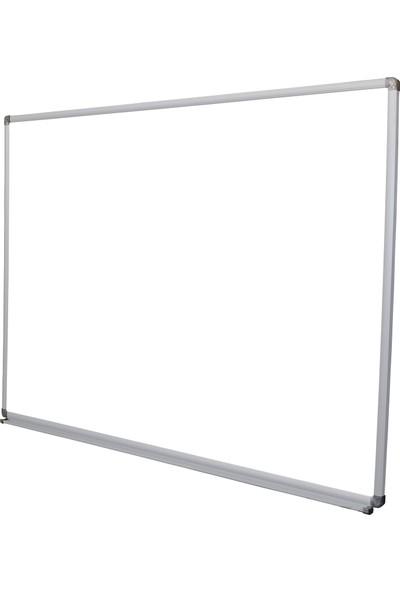 Abc 120X280 Alüminyum Çerçeve Duvara Monte Beyaz Yazı Tahtası