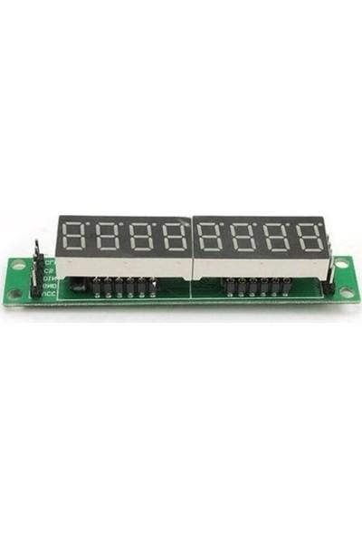 MAX7219 8 Li 7‐segment Display Modülü
