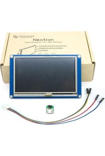 Nextion 4.3 Inch Hmı Akıllı Dokunmatik Tft LCD Ekran -NX4827T043