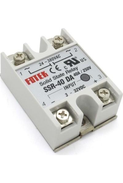 SSR‐40DA 40A Sıcaklık Kontrollü Solid State Röle